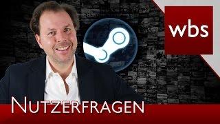 Download Nutzerfragen: Verjährung von Online-Straftaten & Pfändung von Steam-Konto | Kanzlei WBS Video