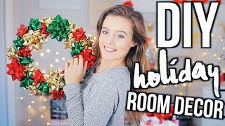 Download DIY Holiday Room Decor! Easy Decorations for the Holiday 2016! Video