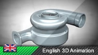 Download How a turbocharger works! (Animation) Video