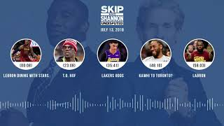 Download UNDISPUTED Audio Podcast (7.13.18) with Skip Bayless and Shannon Sharpe | UNDISPUTED Video