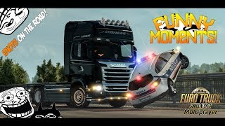 Download Euro Truck Simulator 2 Multiplayer | Funny Moments & Crash Compilation | #32 Video