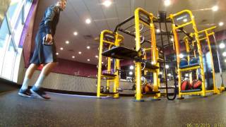 Download Leg and Grip Workout While getting kicked out of planet fitness!!!! Video