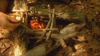 Download Making Camp and Building a Campfire Video