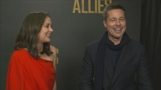 Download Brad Pitt and Marion Cotillard on 'love and trust' in Allied Video