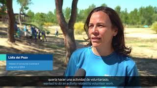 Download Voluntarios de BBVA colaboran con el proyecto Libera Video