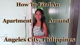 Download How To Find An Apartment Around Angeles City, Philippines Video