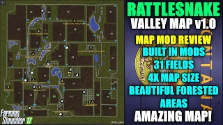 Farming Simulator 17 - California Central Valley v1 0 ″Beta Map ″Map