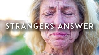 Download What's the most painful thing you've been told? (Strangers Answer) Video