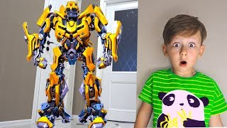 Download Em Bé Lái Siêu Xe Và Robot Tranformer ❤ ToysReview QTV ❤ Đồ Chơi Trẻ Em Video