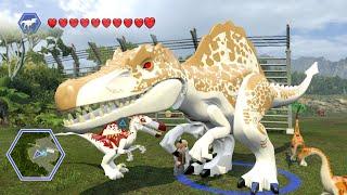 Download Lego Jurassic World - HYBRIDS! ( Free Roam GamePlay ) Video