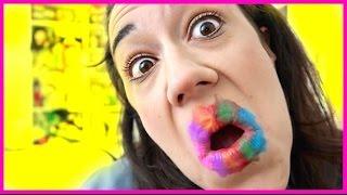 Download NEON RAINBOW LIPSTICK!!! Video