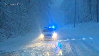 Download Major snowstorm buries North Carolina and Virginia Video