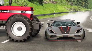 Download Car Near Miss Compilation #3 - BEAMNG DRIVE Video