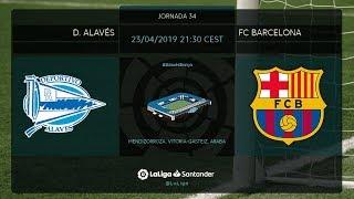 Download Calentamiento D. Alavés vs FC Barcelona Video