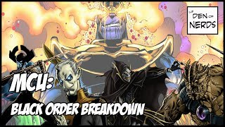 Download Black Order Breakdown! Who are the Children of Thanos Revealed at D23? Let's Talk Infinity War! HYPE Video
