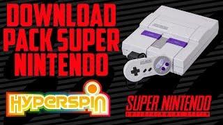 Download HYPERSPIN / PACK SUPER NINTENDO Video