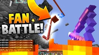 Download ITS GOING TO EXPLODE!! | 4 VS 50 MINECRAFT FAN BATTLE! Video