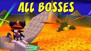 Download Spyro 2 - All Bosses (No Damage) Video