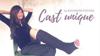 Download Cast unique | ALEXANDRA FOOTAGE (Gipsbein, Sprain, Cast) Video