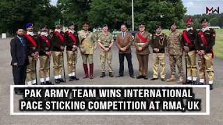 Download Pakistan Army team wins Pace Sticking Competition in RMA Sandhurst, UK Video