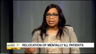 Download Gauteng Health MEC Mahlangu on the relocation of mentally ill patients Video