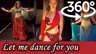 Download 360° Video 4K | Belly Dancing in Virtual Reality | Nikki - A Spirit in Motion Video