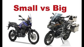Download Top 5 Reasons to ride Small Motorcycle on a Long Adventure trip Video
