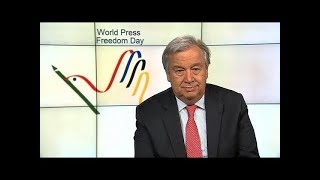 Download UN Chief on World Press Freedom Day Video