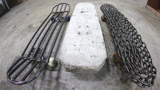 Download THE 3 HEAVIEST SKATEBOARDS IN THE WORLD! Video