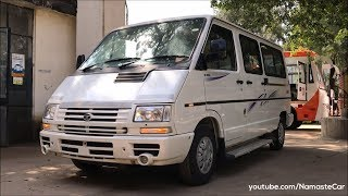 Download Tata Winger Maxivan 2.2L Dicor 2018 | Real-life review Video