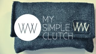 Download How to Make a Simple Clutch | WITHWENDY Video