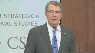 Download Carter Gives Keynote Address at CSIS Conference Video