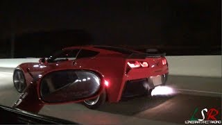 Download Red Devil C6 Z06 vs 600 whp Viper, Blown C7, CTS-V, Paxton Coyote & C6 Z06 Video