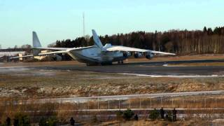 Download Antonov An-225 takeoff from Arlanda Video