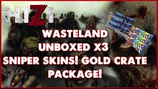 Download H1Z1: Gold Wasteland Crate Pack! 3 Ultra Rare Snipers Unboxed!! Video