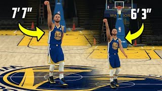 Download What If Stephen Curry Was 7 Foot 7? NBA 2K18 Gameplay Challenge! Video