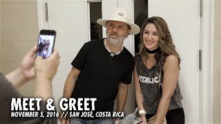 Download Metallica: Meet & Greet (San José, Costa Rica - 2016) Video