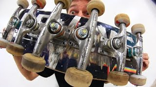 Download THE CENTIPEDE SKATEBOARD | STUPID SKATE EP 79 Video