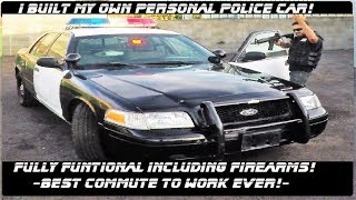 Download I built My Own Personal Police Car! Ford Crown Victoria Police Interceptor! Video