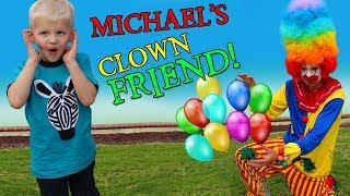 Download Happy Clown Playtime with Michael!! Video