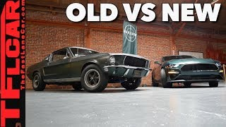 Download Old vs New: How does the New Mustang Bullitt Compare to the Original? Video