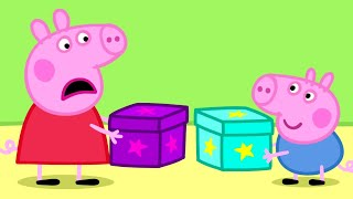 Download Peppa Pig English Episodes | Peppa Pig's Secret Box! Peppa Pig Official Video