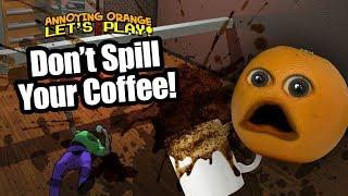 Download Don't Spill the Coffee! [Annoying Orange Plays] Video