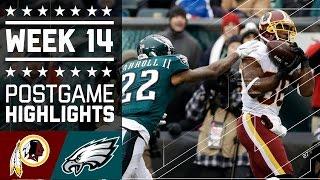 Download Redskins vs. Eagles | NFL Week 14 Game Highlights Video