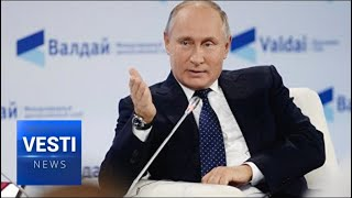 Download Putin Speaks Plainly: Russia is Ours and We Won't Budge; Our Nukes Aren't Going Anywhere Video