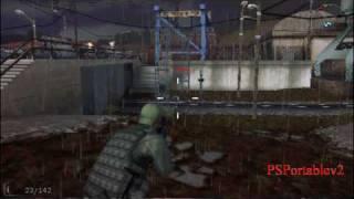 Download Socom Fireteam Bravo 3 Full PSP Game - Single Player Gameplay! HD! Video