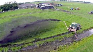Download Ditch Cleaning Demonstration   Baggerspuiten en Ecologisch Slootschonen demo Video