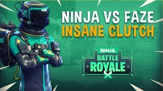 Download Ninja vs FaZe Game 2 Insane Clutch! - Fortnite Tournament Gameplay Video