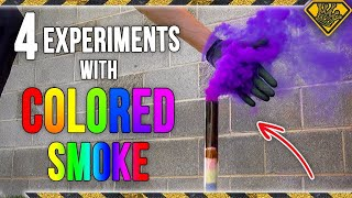 Download 4 Experiments with Colored Smoke Video