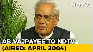 Download ″Never Thought I Would Be A Politician, Always Wanted To Be A Poet″: Vajpayee (Aired: April 2004) Video